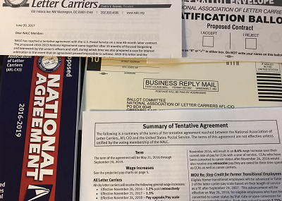 Postal news daily report june 27 2017 postalmag nalc union members should check their mailboxes as the ratification ballots for the proposed 2016 2019 national agreement are being delivered platinumwayz