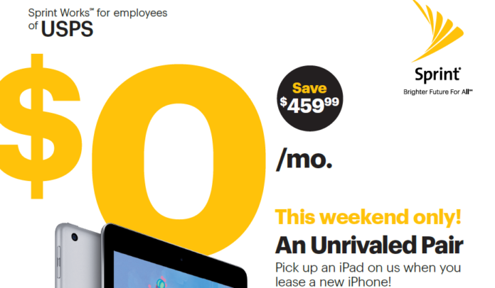 Sprint Deals for USPS Employees