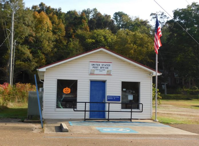 Bankston, Alabama Post Office