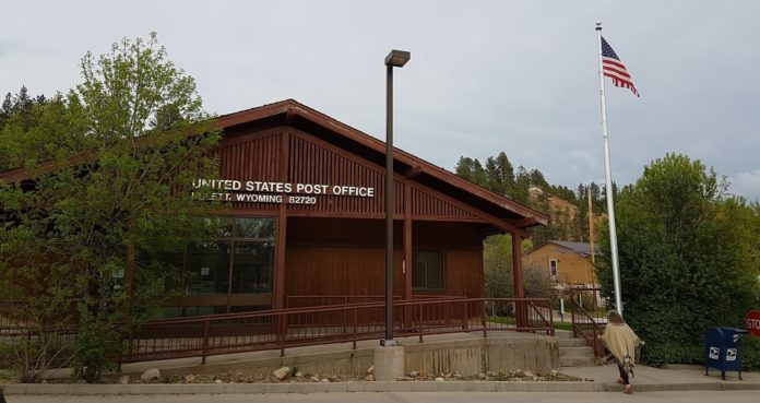 Hulett Wyoming Post Office