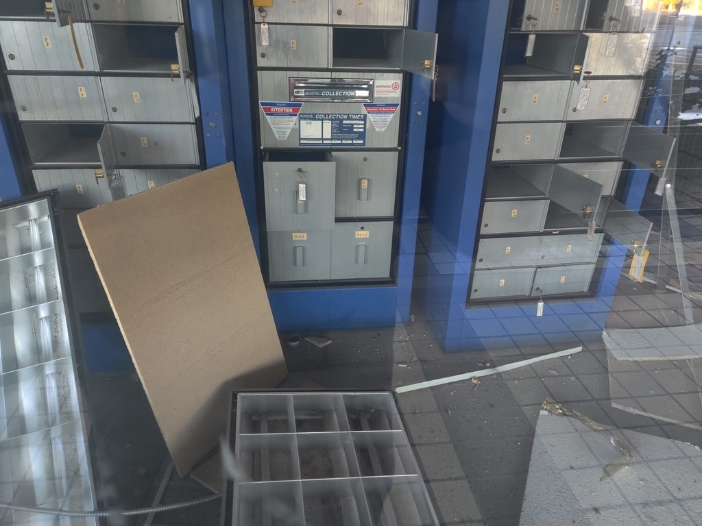Puerto Rico Post Office Earthquake Damage