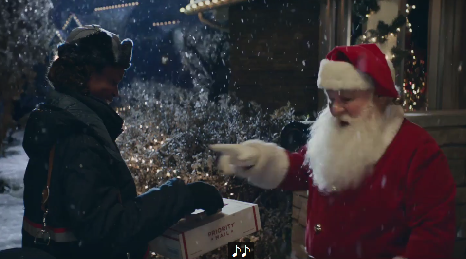 Usps Christmas Eve.Usps Holiday Tv Ads Debut Postalmag Com