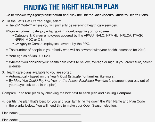 Finding the Right Health Plan