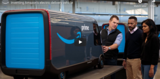 Amazon Electric Delivery Vehicle