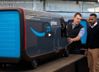 Amazon Electric Delivery Vehicle