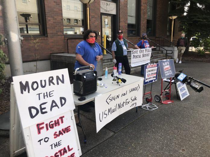 Postal Workers Memorial