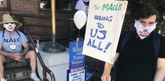 Portland Bridge Postal Protest
