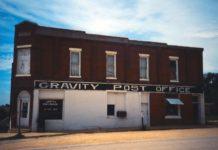 Gravity Iowa Post Office 50848
