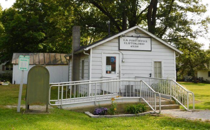 Clifton Ohio Post Office