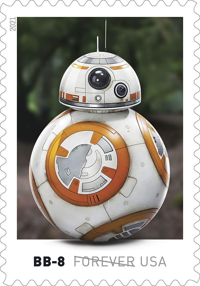 Star Wars Droid Stamp