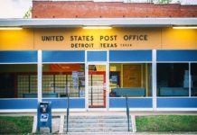 Detroit Texas Post Office