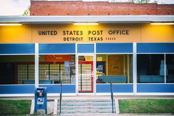 Detroit Texas Post Office