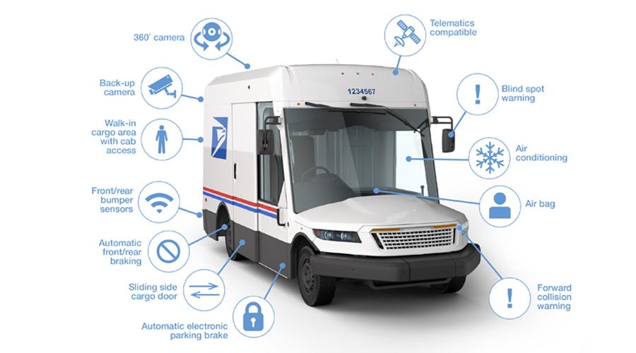 Oshkosh Postal Vehicle
