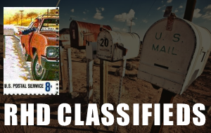 Click here for Right-Hand-Drive Classifieds!